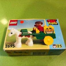 Juegos construcción - Lego: LEGO CARRETA CON NIÑO REF 2685. Lote 135172170