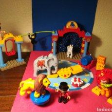 Juegos construcción - Lego: LEGO DUPLO 5593 VILLAGE CIRCUS SET (CASI) COMPLETO. Lote 135246166