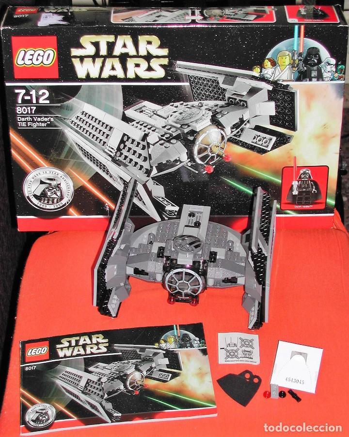LEGO STAR WARS 8017 - DARTH VADER'S TIE FIGHTER (Juguetes - Construcción - Lego)