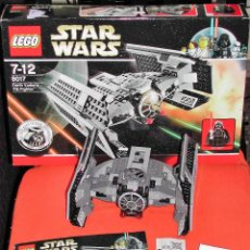 Juegos construcción - Lego: LEGO STAR WARS 8017 - DARTH VADER'S TIE FIGHTER. Lote 135369134