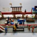 Juegos construcción - Lego: DIORAMA ANTIGUO GRANDE DE LEGO RARO Y ESCASO. Lote 142942765