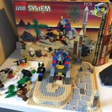 Juegos construcción - Lego: LEGO SYSTEM EL MISTERIO DE LA ESFINGE 5978. Lote 135445358