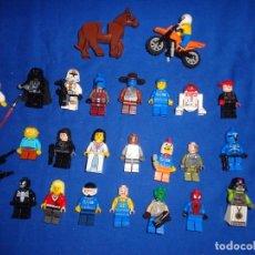 Juegos construcción - Lego: LEGO - LOTE MAS DE 20 FIGURAS VARIADAS LEGO, TIENE STAR WARS Y OTROS, VER FOTOS Y DESCRIPCION! SM. Lote 135451734