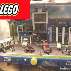 Juegos construcción - Lego: EXPOSITOR TIENDA- LEGO CITY COMISARIA POLICIA ¡¡NUEVA¡¡ SENSOR LUZ MOVIMIENTO - VITRINA, REF: 60047. Lote 135725279