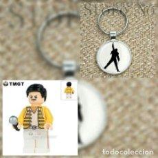 Juegos construcción - Lego: FREDDIE MERCURY+ LLAVERO. Lote 147737868