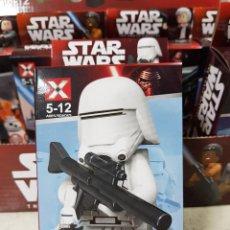 Juegos construcción - Lego: FIGURA DESMONTABLE DE STAR WARS SNOWTROOPER-NUEVA ESTRENAR. Lote 136140398