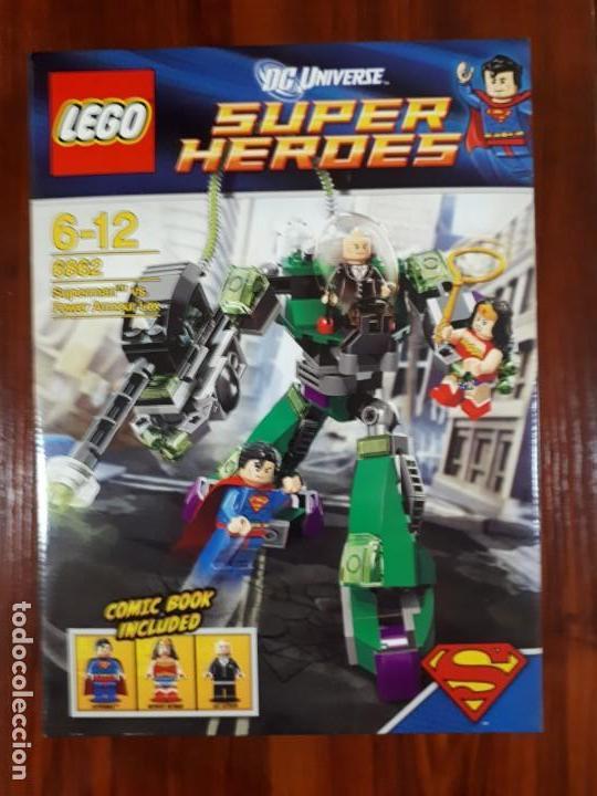 LEGO 6862 - LEGO SUPER HEROES - DC UNIVERSE - SUPERMAN - NUEVO (Juguetes - Construcción - Lego)
