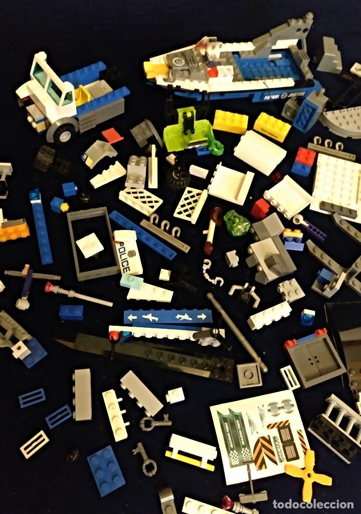 Juegos construcción - Lego: Lote de piezas Lego ,pesa 443 gramos. - Foto 3 - 136828702