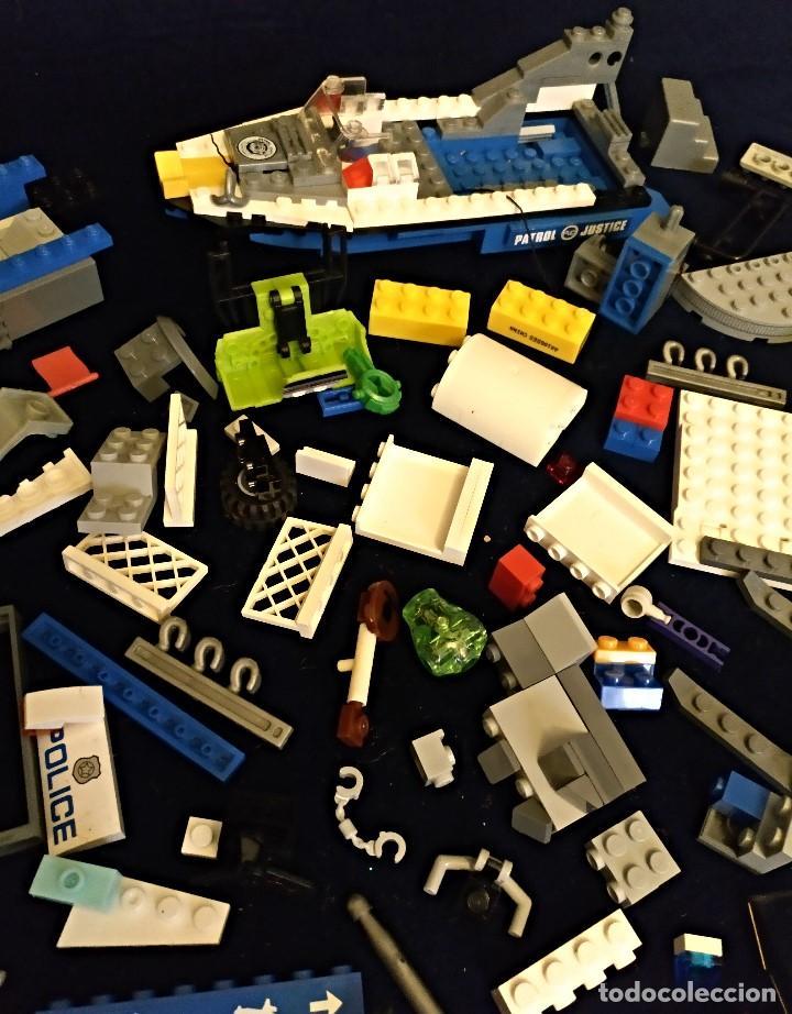 Juegos construcción - Lego: Lote de piezas Lego ,pesa 443 gramos. - Foto 7 - 136828702