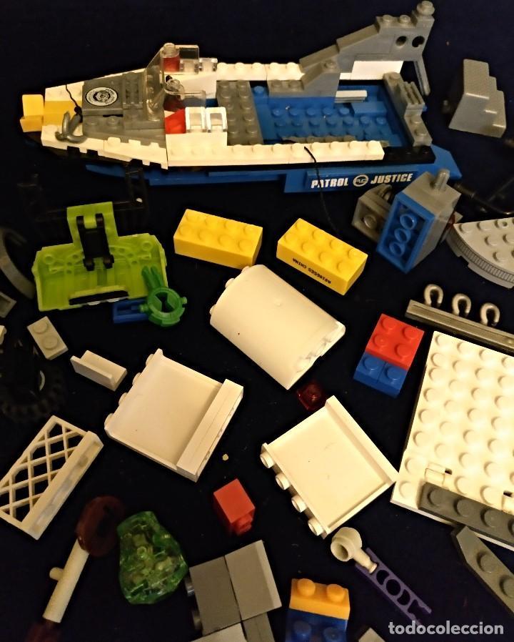 Juegos construcción - Lego: Lote de piezas Lego ,pesa 443 gramos. - Foto 12 - 136828702