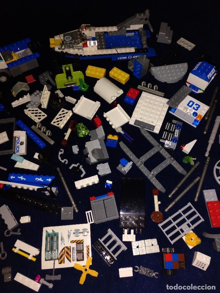 Juegos construcción - Lego: Lote de piezas Lego ,pesa 443 gramos. - Foto 16 - 136828702