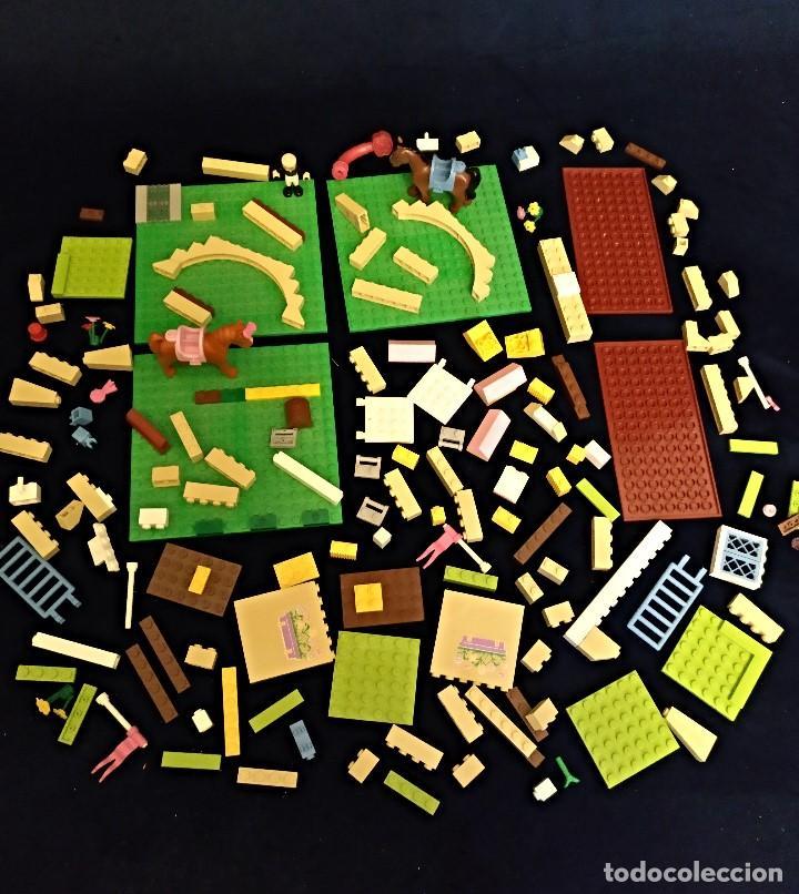 LOTE DE PIEZAS LEGO FRIENDS ,PESA 400 GRAMOS. (Juguetes - Construcción - Lego)