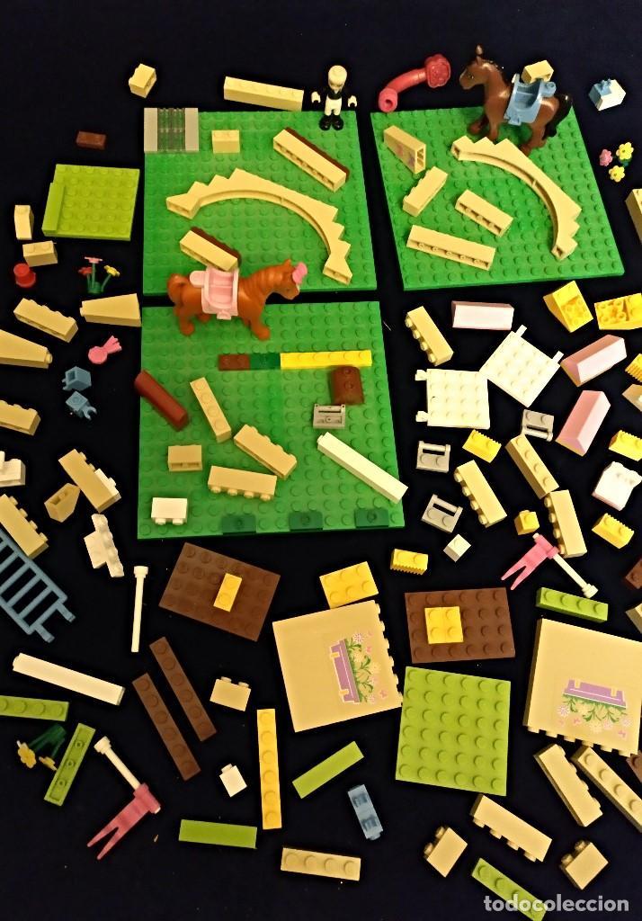 Juegos construcción - Lego: Lote de piezas Lego Friends ,pesa 400 gramos. - Foto 2 - 136830098
