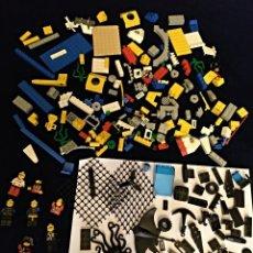 Juegos construcción - Lego: LOTE DE PIEZAS LEGO ,PESA 300 GRAMOS CON FIGURAS. Lote 137132102