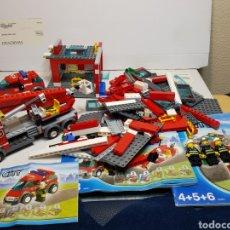 Juegos construcción - Lego: LEGO ANTIGUO PARQUE DE BOMBEROS. Lote 137651522