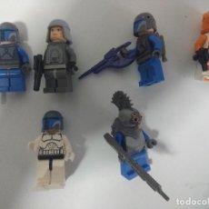 Juegos construcción - Lego: LOTE FIGURAS LEGO STAR WARS.. Lote 137733534