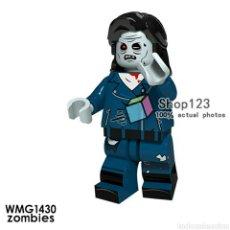 Juegos construcción - Lego: ZOMBIE TERROR MINIFIGURAS COMPATIBLE NOVEDAD NUEVOS MODELOS. Lote 195161992