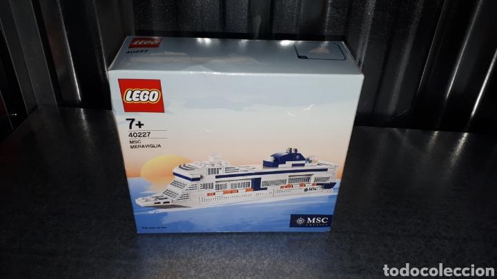 LEGO EDICION EXCLUSIVA PARA MSC CRUCEROS REF 40227 MSC MERAVIGLIA (Juguetes - Construcción - Lego)