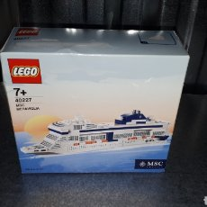 Juegos construcción - Lego: LEGO EDICION EXCLUSIVA PARA MSC CRUCEROS REF 40227 MSC MERAVIGLIA. Lote 138697210