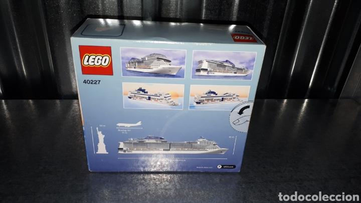 Juegos construcción - Lego: LEGO EDICION EXCLUSIVA PARA MSC CRUCEROS REF 40227 MSC MERAVIGLIA - Foto 3 - 138697210
