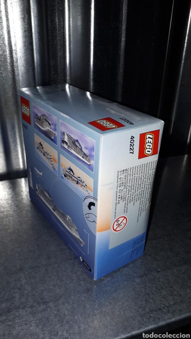 Juegos construcción - Lego: LEGO EDICION EXCLUSIVA PARA MSC CRUCEROS REF 40227 MSC MERAVIGLIA - Foto 4 - 138697210
