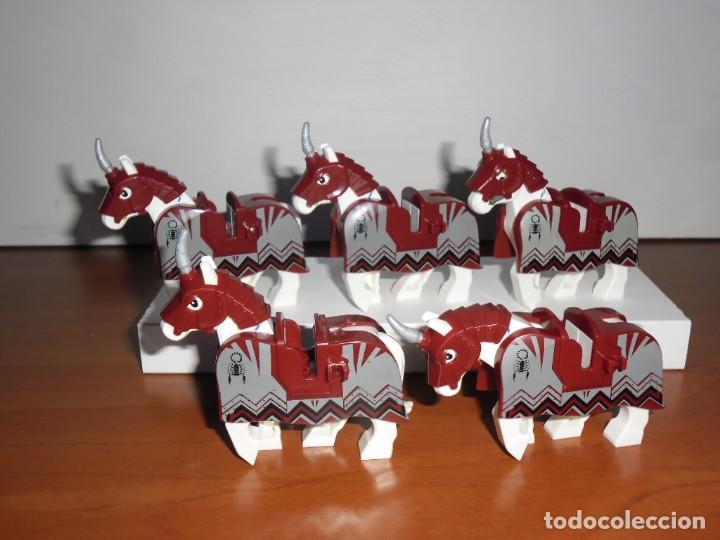CABALLOS WAR HORSES 5 FIGURES THE LORD OF THE RINGS (Juguetes - Construcción - Lego)