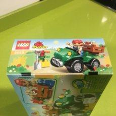 Juegos construcción - Lego: LEGO DUPLO COCHE JARDINERO,FRUTERO 5645,TENTE,MECCANO.. Lote 138924726