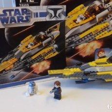Juegos construcción - Lego: LEGO® STAR WARS 7669, ANAKIN'S JEDI STARFIGHTER.. Lote 140107038