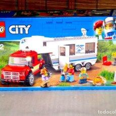 Juegos construcción - Lego: LEGO 60182. CAMIONETA Y CARAVANA. NUEVO Y PRECINTADO. Lote 140243110