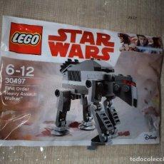 Juegos construcción - Lego: LEGO STAR WARS FIRST ORDER HEAVY ASSAULT WALKER REF. 30497 SOBRE SIN ABRIR. Lote 140557362