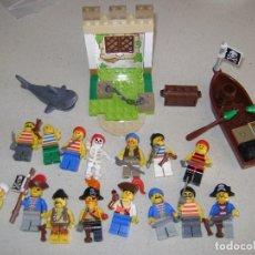 Juegos construcción - Lego: LEGO , LOTE DE PIRATAS ANTIGUOS .. Lote 140753270