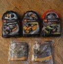 Juegos construcción - Lego: LEGO - RACERS - 8119+8661+8666+MCDR1+MCDR2+MCDR3+MCDR4. Lote 140892714