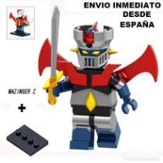 Juegos construcción - Lego: MAZINGER Z - MINIFIGURA LEGO COMPATIBLE - TOTALMENTE DESMONTABLE - ENVIO INMEDIATO. Lote 141474774