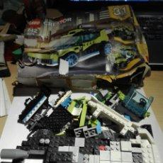 Juegos construcción - Lego: LEGO CREATOR MODELO 31074. PIEZAS Y CAJA. Lote 142807277