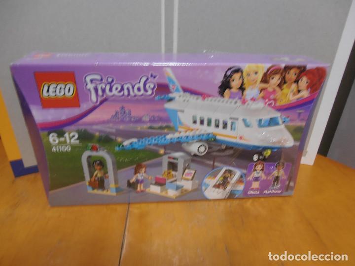 Juegos construcción - Lego: Lego Friends Private Jet Plane Airplane 41100 Olivia Matthew - Foto 5 - 143318554