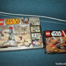 Juegos construcción - Lego: LEGO STAR WARS ~ 75134 + 75081 ~ LEER!. Lote 143581286
