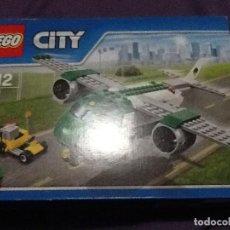 Juegos construcción - Lego: LEGO CITY CARGO AIRPLANE 60101 NUEVO . Lote 143662994
