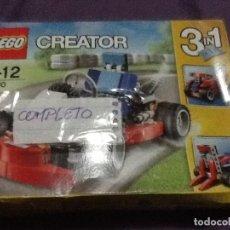 Juegos construcción - Lego: LEGO CREATOR RED GO-KART NUEVO . Lote 143663030