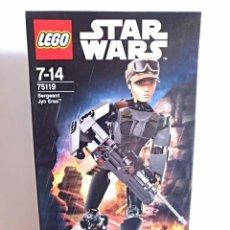 Juegos construcción - Lego: LEGO STAR WARS 75119 SARGENTO JYN ERSO. TOTALMENTE NUEVO PRECINTADO. Lote 143808610