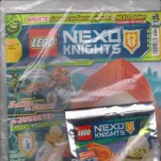 Juegos construcción - Lego: LEGO -- NEXO KNIGHTS Nº 14 AGOSTO -- LIMITED EDITION -- LANCE. Lote 143887014