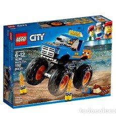 Juegos construcción - Lego: LEGO CITY CAMION MONSTRUO 6-12 AÑOS 60180. Lote 144351918