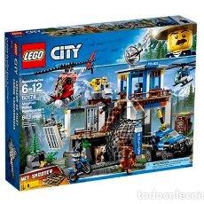 Juegos construcción - Lego: LEGO CITY MONTAÑA COMISARIA DE POLICIA 6-12 AÑOS 60174. Lote 144352810