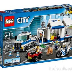 Juegos construcción - Lego: LEGO CITY CENTRO DE CONTROL MOVIL 6-12 AÑOS 60139. Lote 144354658