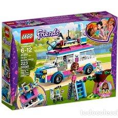 Juegos construcción - Lego: LEGO FRIENDS VEHICULO DE OPERACIONES DE OLIVIA 6-12 AÑOS 41333. Lote 144355798