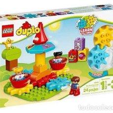 Juegos construcción - Lego: LEGO DUPLO MI PRIMER TIOVIVO 1 1/2-3 AÑOS 10845. Lote 144356682