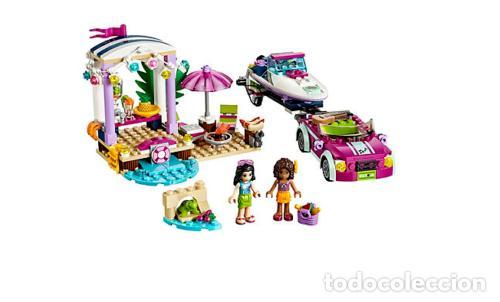 Juegos construcción - Lego: LEGO FRIENDS REMOLQUE DE LA LANCHA DE ANDREA 6-12 AÑOS 41316 - Foto 2 - 144357522