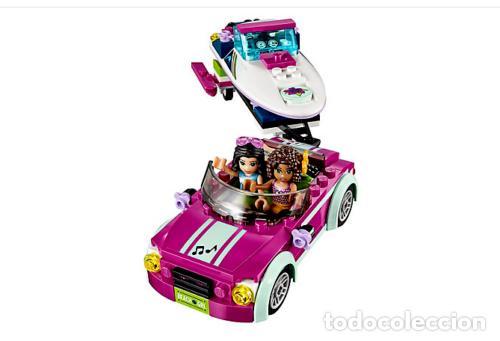 Juegos construcción - Lego: LEGO FRIENDS REMOLQUE DE LA LANCHA DE ANDREA 6-12 AÑOS 41316 - Foto 4 - 144357522