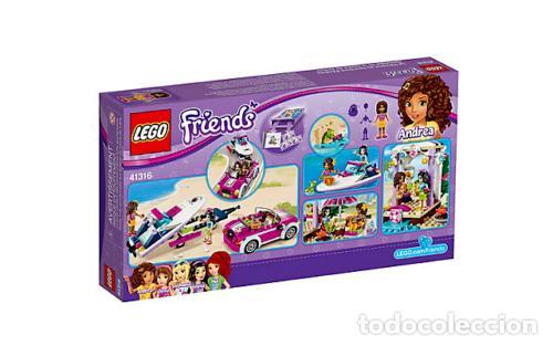 Juegos construcción - Lego: LEGO FRIENDS REMOLQUE DE LA LANCHA DE ANDREA 6-12 AÑOS 41316 - Foto 5 - 144357522