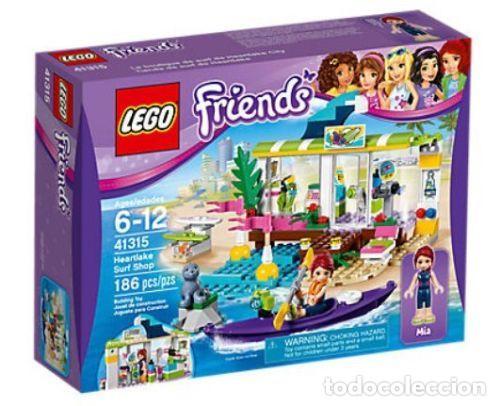 LEGO FRIENDS TIENDA DE SURF DE HEARTLAKE 6-12 AÑOS 41315 (Juguetes - Construcción - Lego)