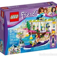Juegos construcción - Lego: LEGO FRIENDS TIENDA DE SURF DE HEARTLAKE 6-12 AÑOS 41315. Lote 144357842